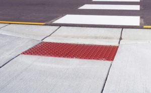 ADA Pedestrian Ramp